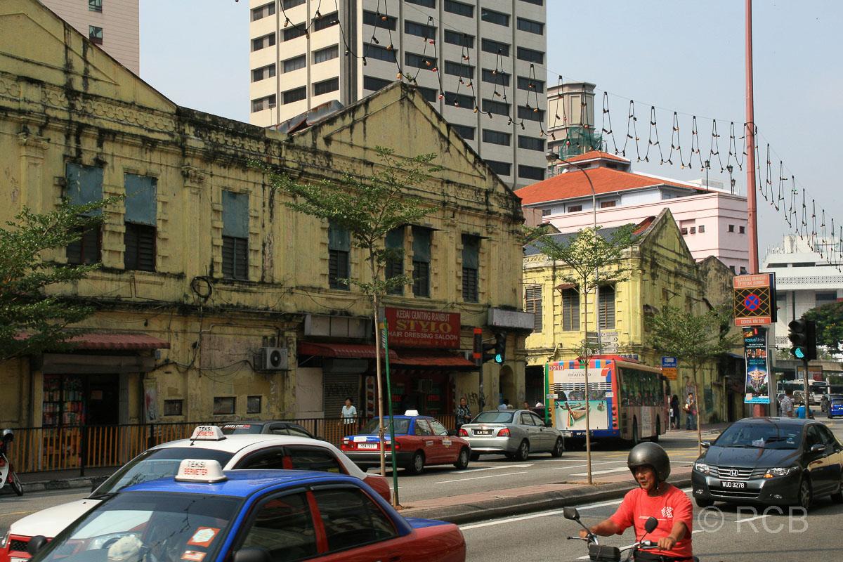 Straßenszene in Chinatown