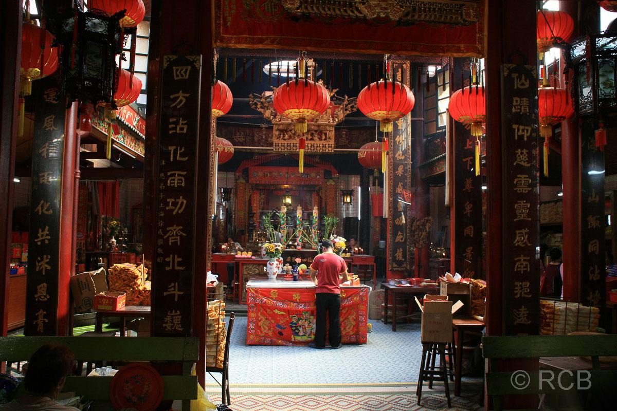 chinesischer Tempel in Chinatown