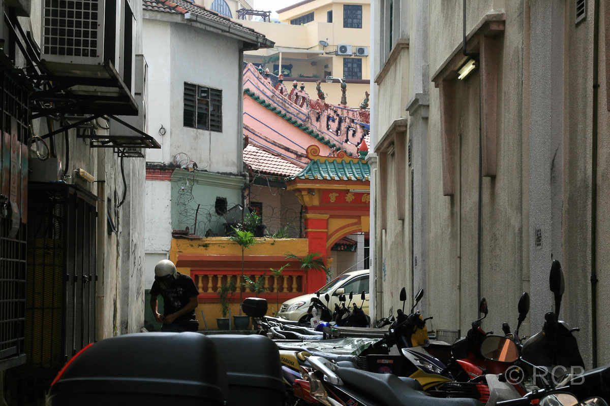 enge Gasse in Chinatown