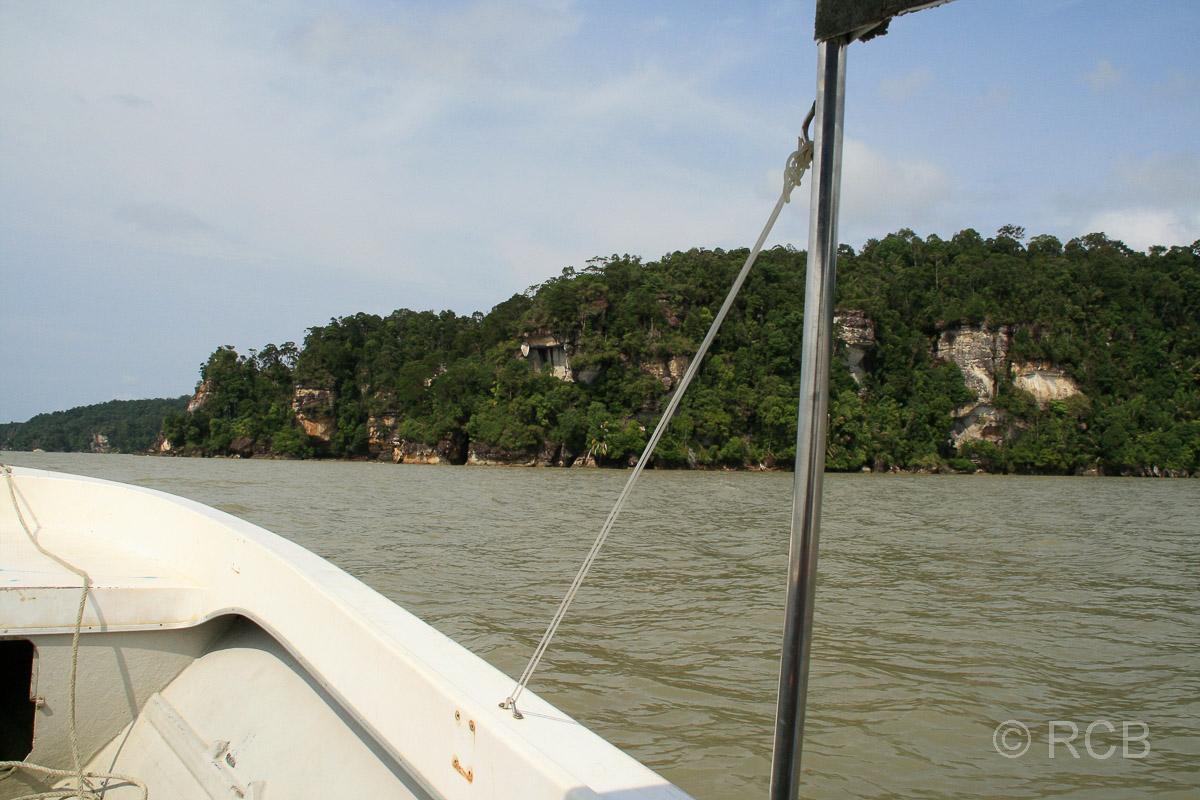 Bootsfahrt zum Bako Nationalpark