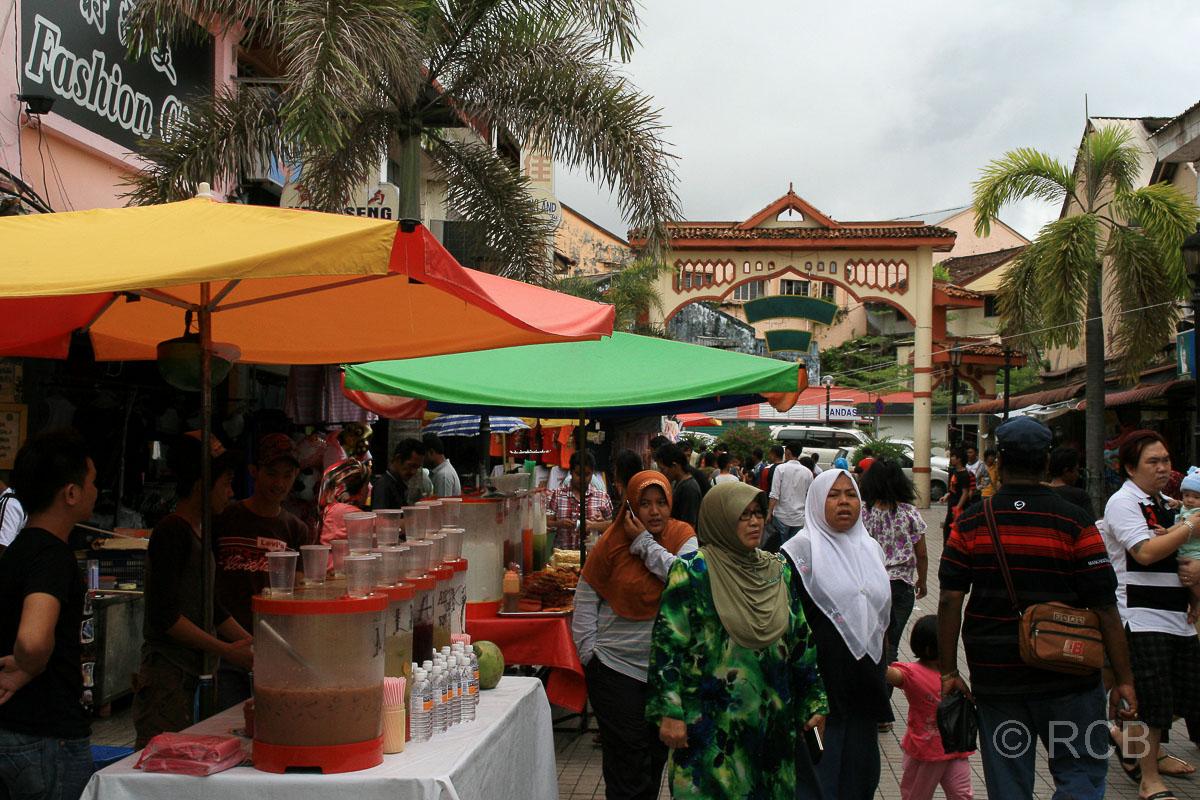 bei den Markthallen, Kuching