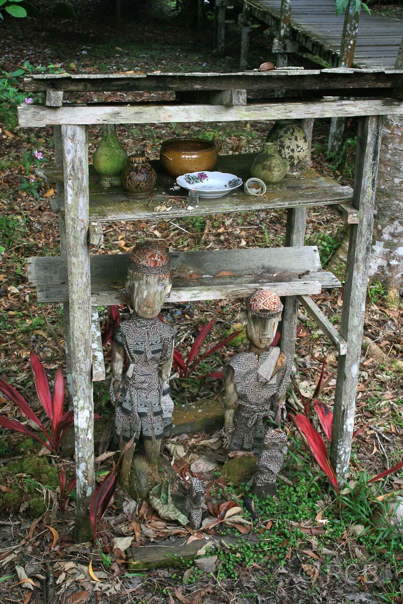 Geisterschrein, Sarawak Cultural Village