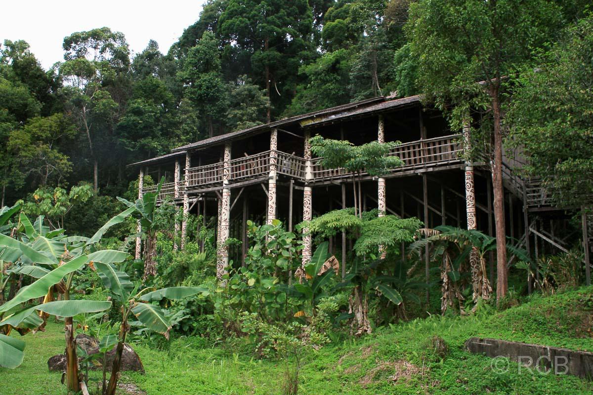 Sarawak Cultural Village, Langhaus