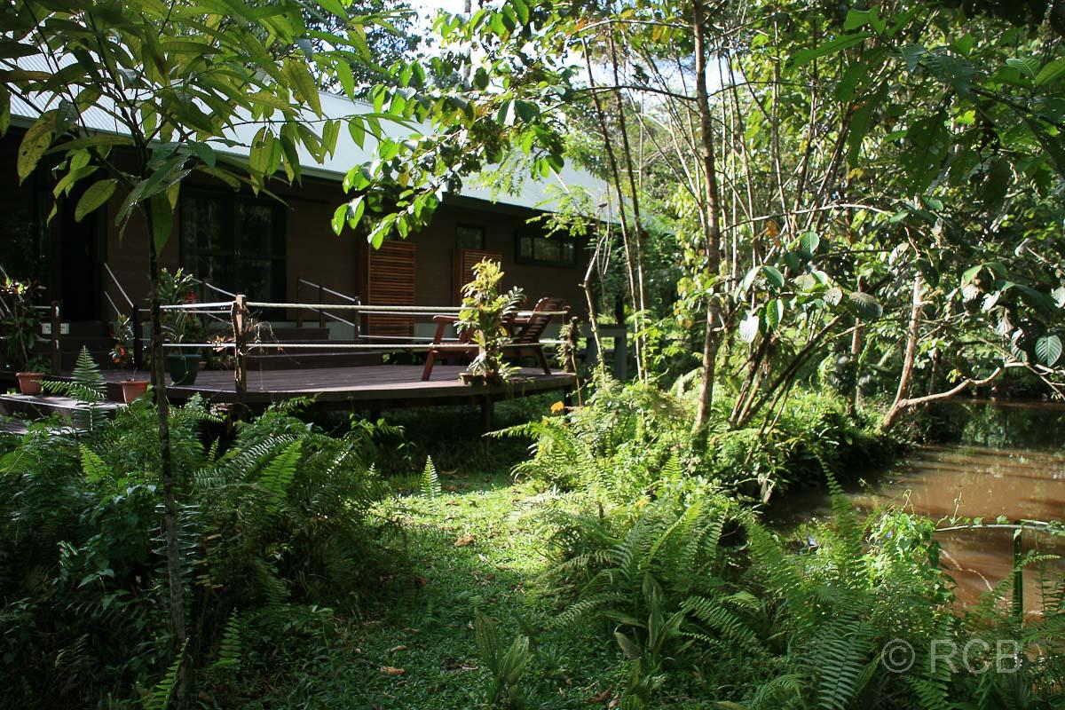 Unterkunft im Hauptquartier des Mulu Nationalparks
