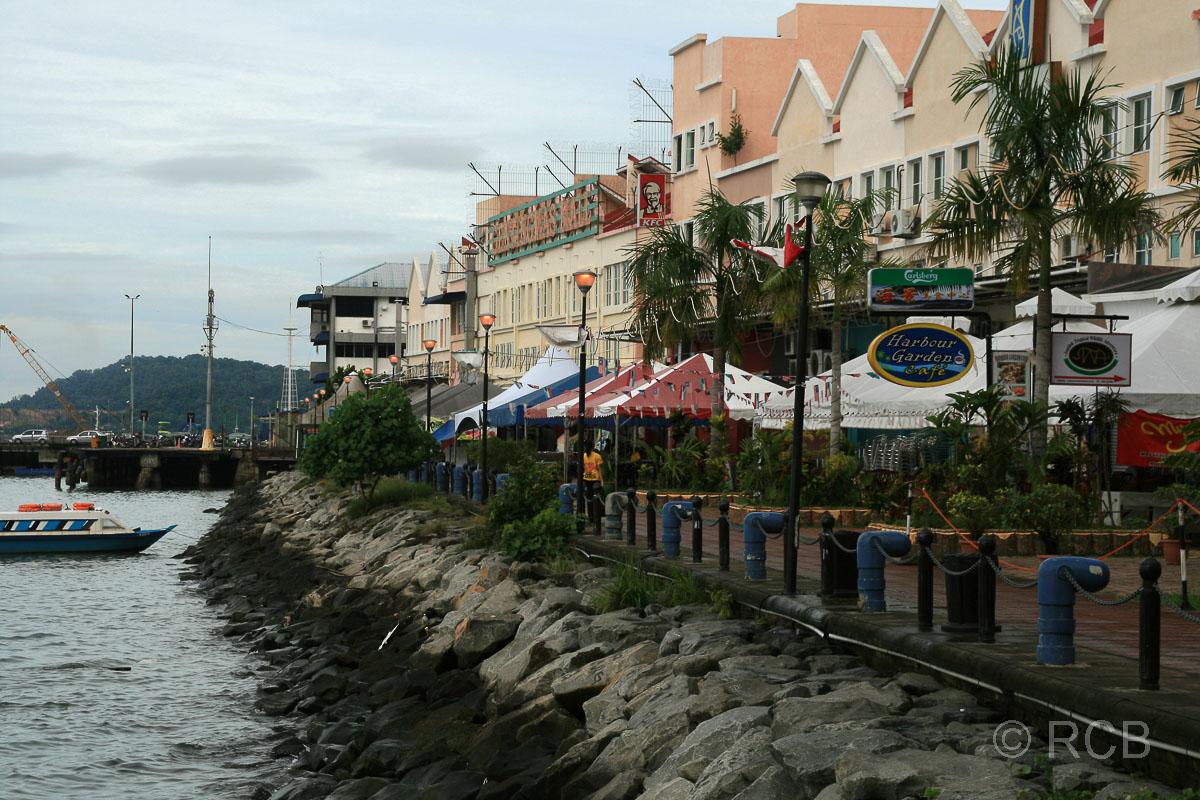 Sandakan, Uferpromenade