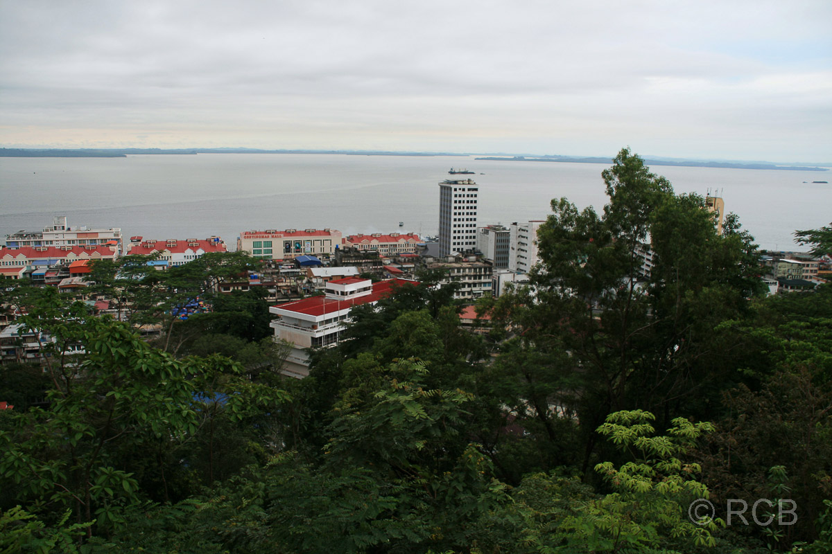 Sandakan, Ausblick vom Rotary Observation Point