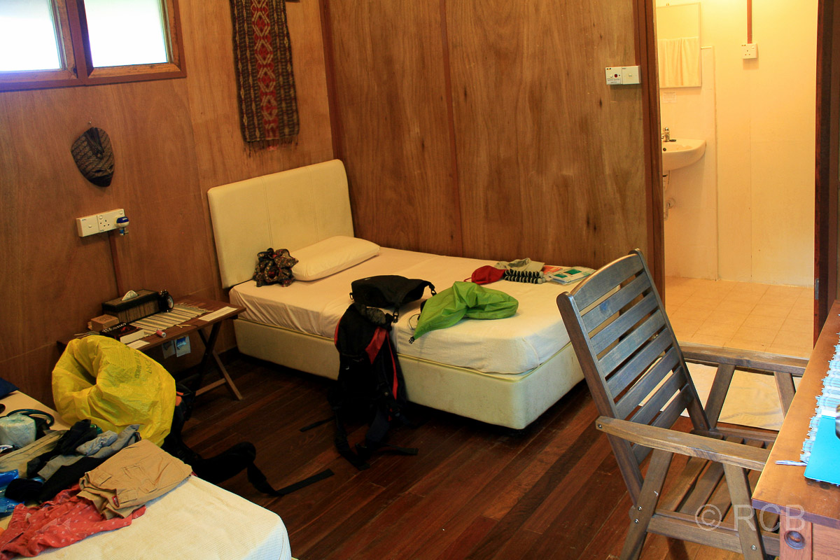 "Unterkunft in der ""Nature Lodge Kinabatangan"""
