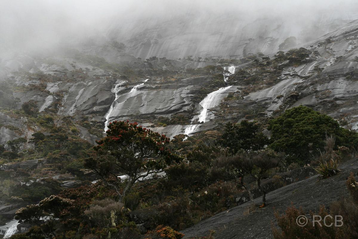Granitwände des Mt. Kinabalu