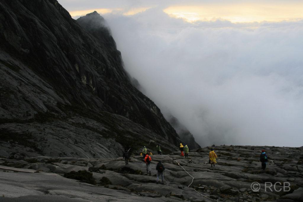 Abstieg vom Mt. Kinabalu