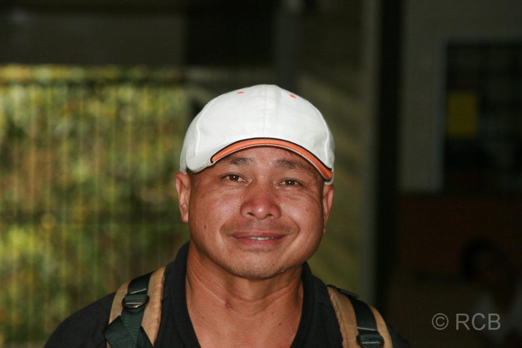 Trekking-Guide am Fuße des Mt. Kinabalu