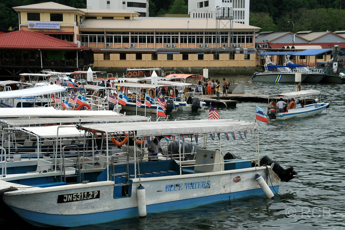 Jesselton Point Fährterminal, Kota Kinabalu