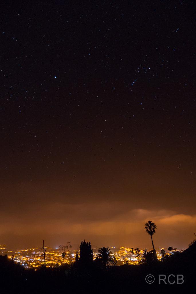 Sternenhimmel über Los Llanos