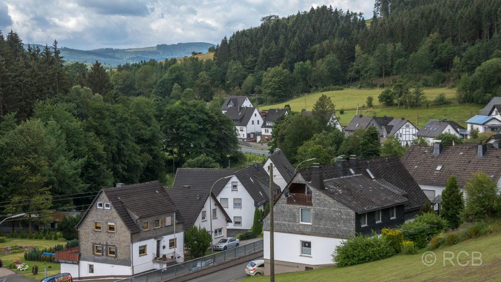 Ankunft in Schmallenberg