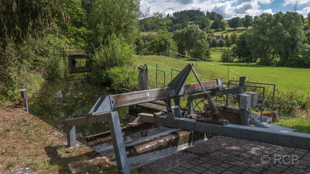 die Lenne bei der ehem. Besteckfabrik Hesse in Fleckenberg