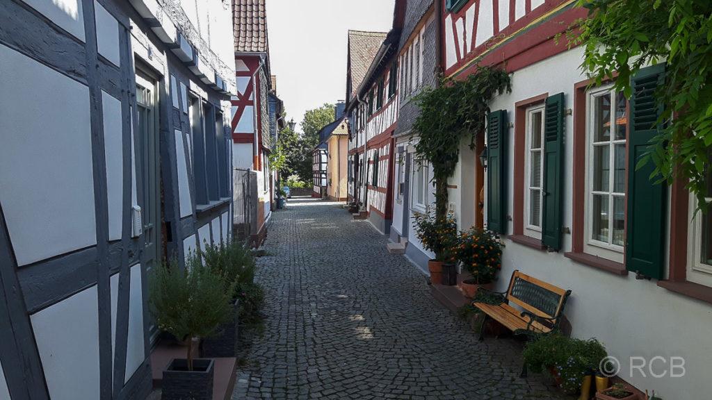 Gasse zum Main in Seligenstadt