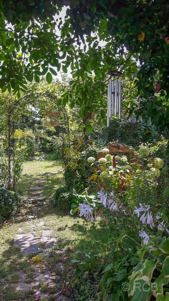 entspannter Nachmittag im Garten