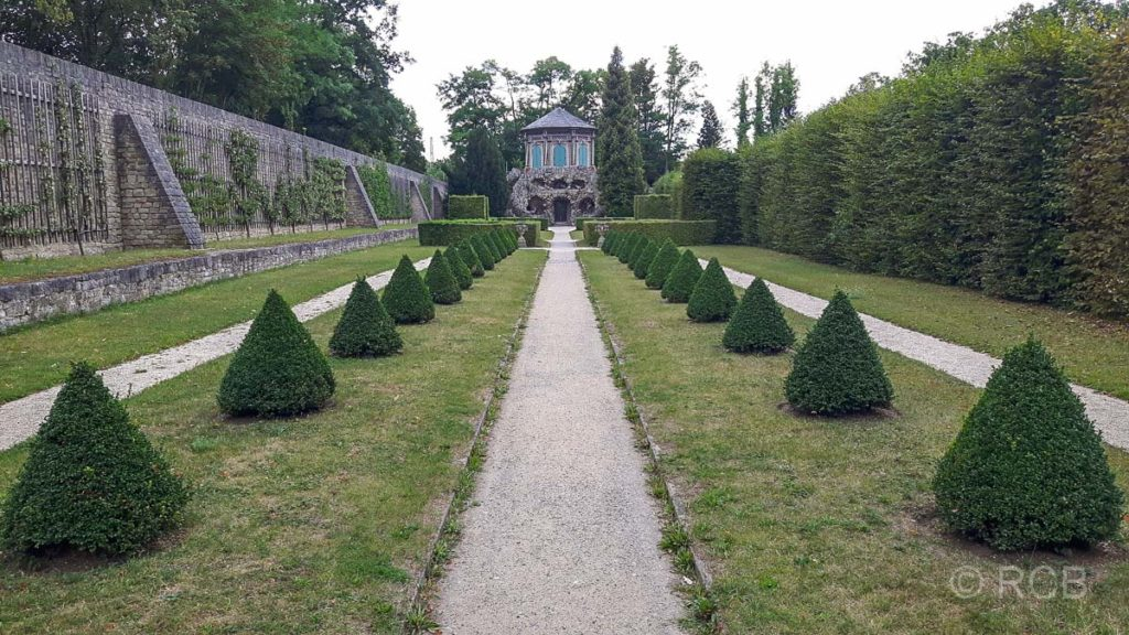 Schlossgarten Veitshöchheim, Grottenhaus