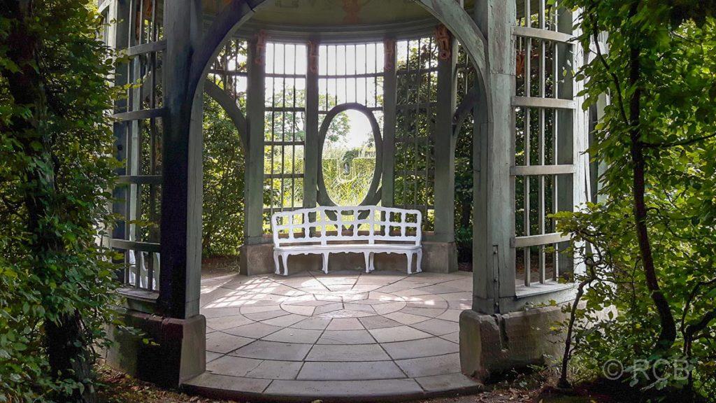 Schlossgarten Veitshöchheim, Treillagepavillon