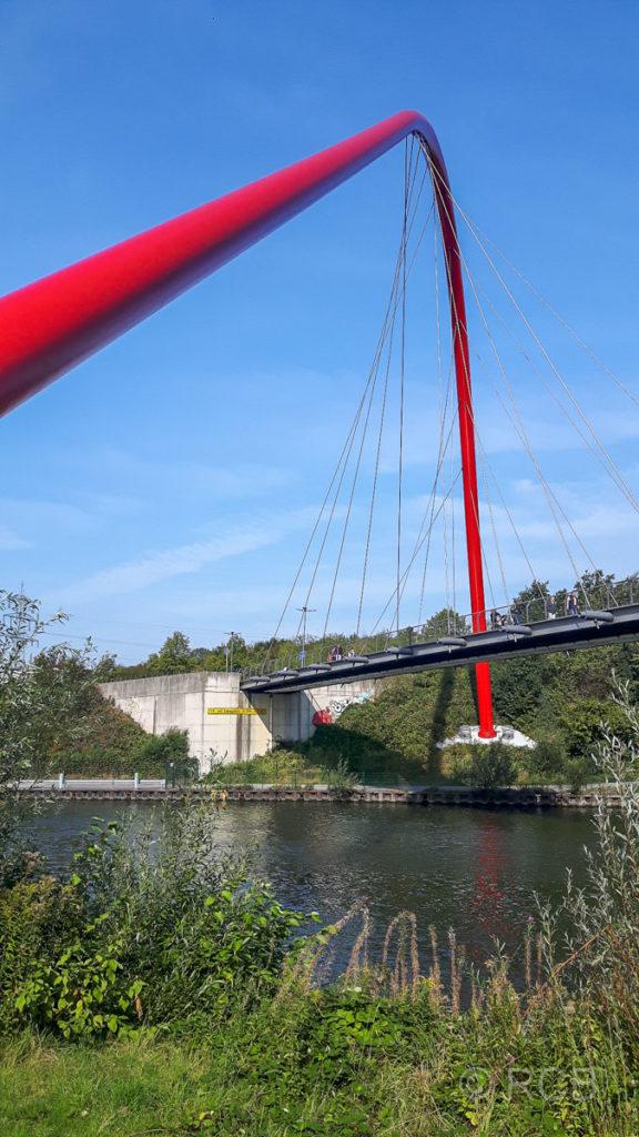 Doppelbogenbrücke im Gelsenkirchener Nordsternpark