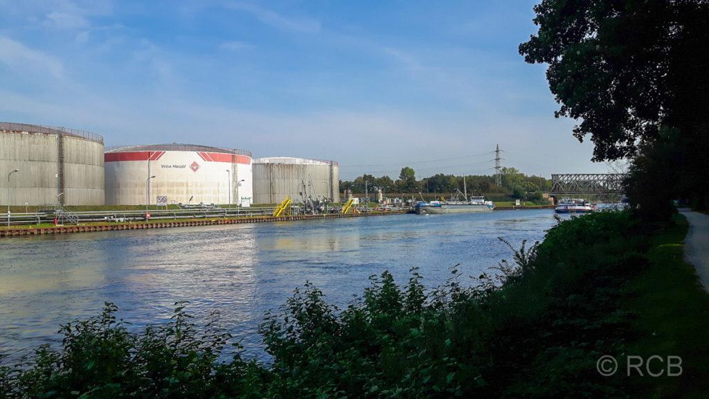 Rhein-Herne-Kanal bei Gelsenkirchen