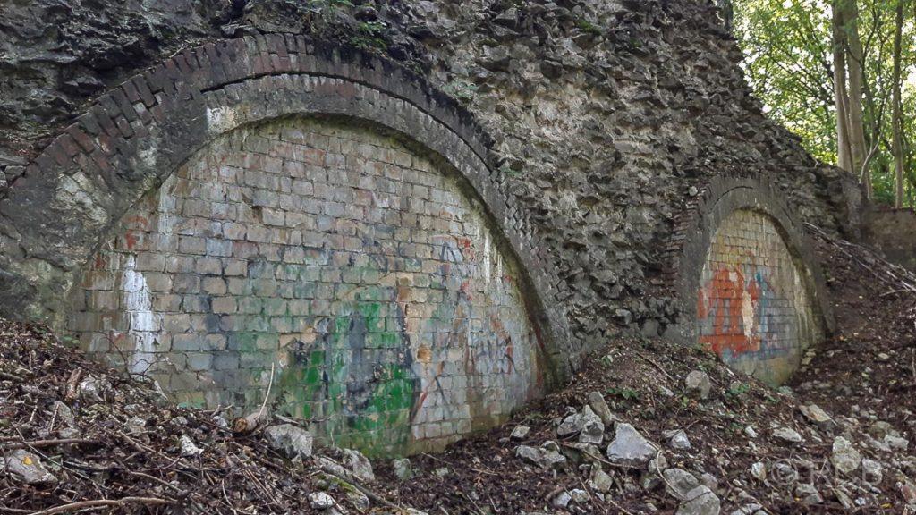 ehemalige Kalk-Brennöfen