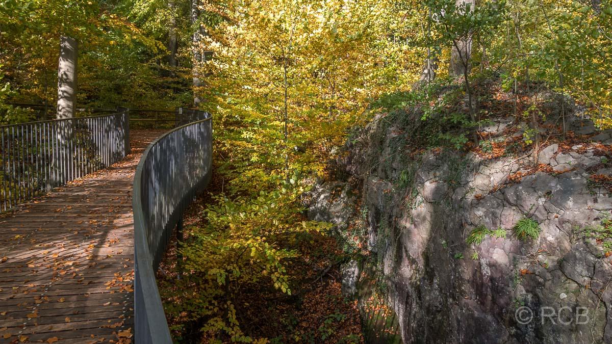 Goldener Oktober im Felsenmeer