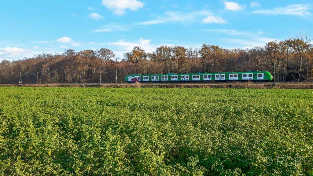 S-Bahn-Linie S6 von Essen nach Köln