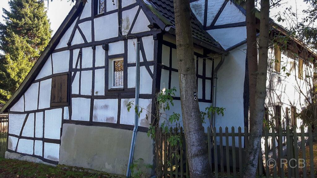 Fachwerkhaus am Wald