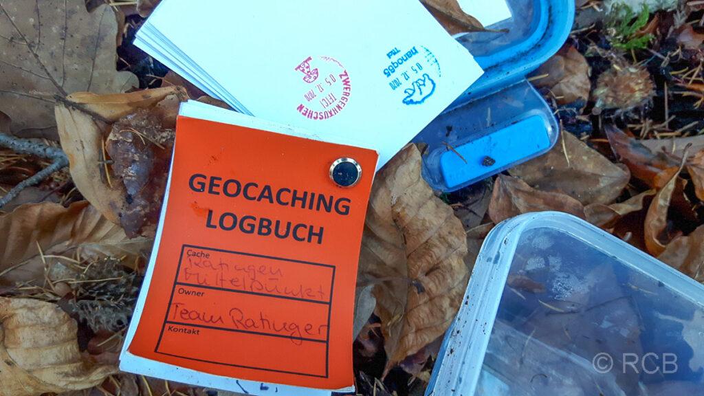 Geocache am Mittelpunkt Ratingens