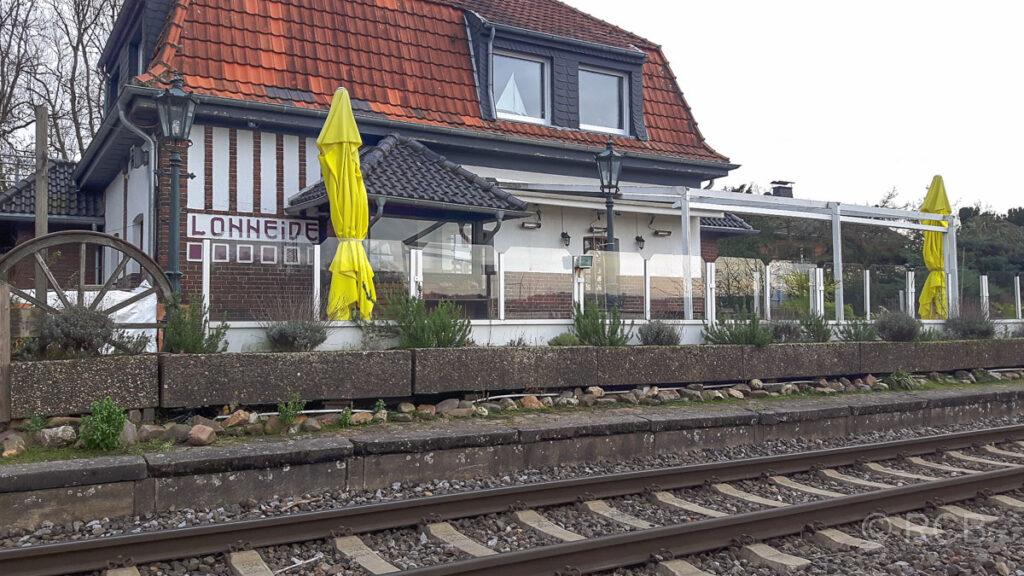 Gasthaus im ehemaligen Bahnhof Lohheide