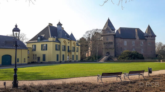 Burg Linn, Vorburg