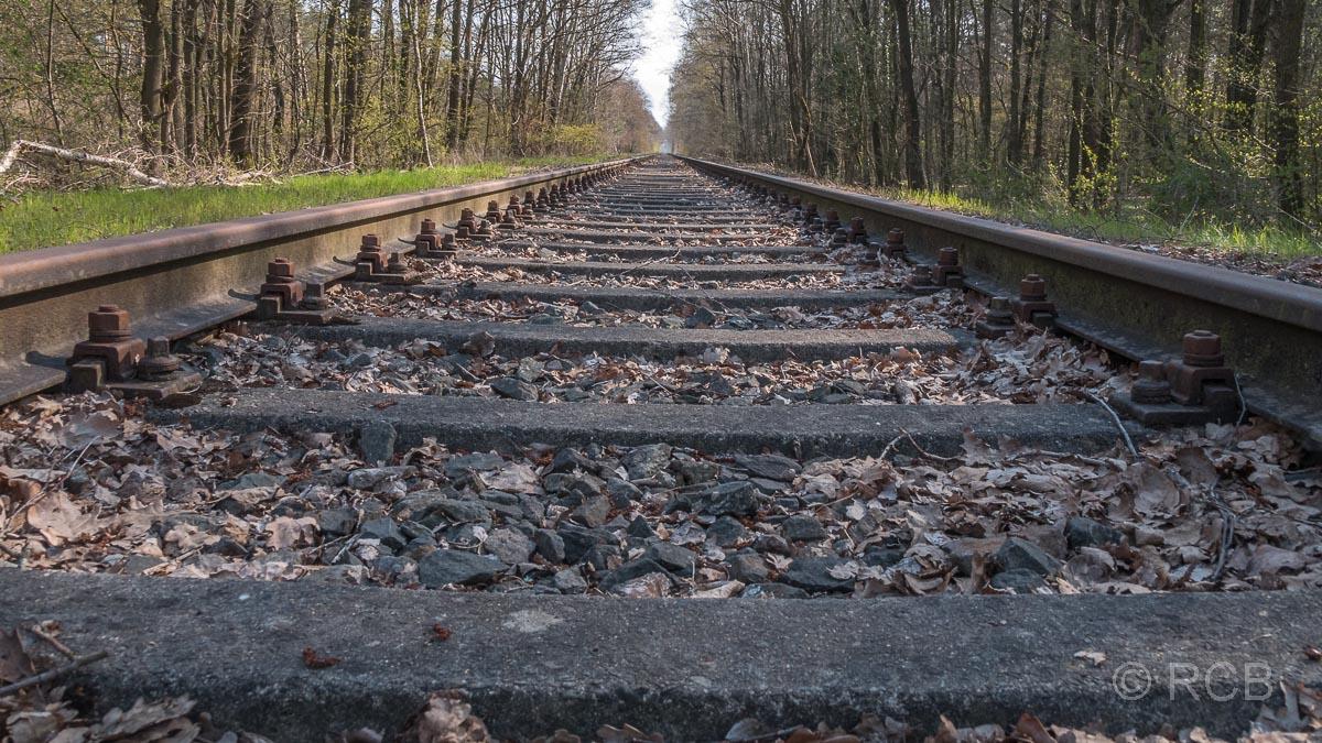 stillgelegte Strecke der ehemaligen Hamburg-Venloer Bahn
