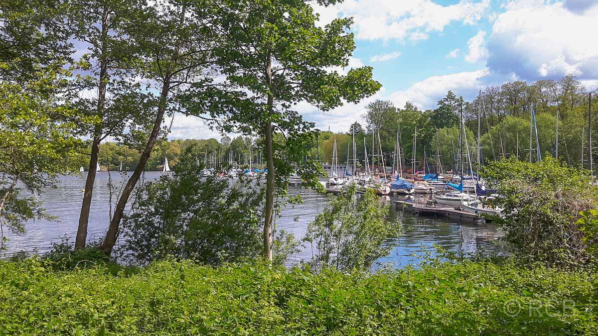 Bootshafen am Masurensee