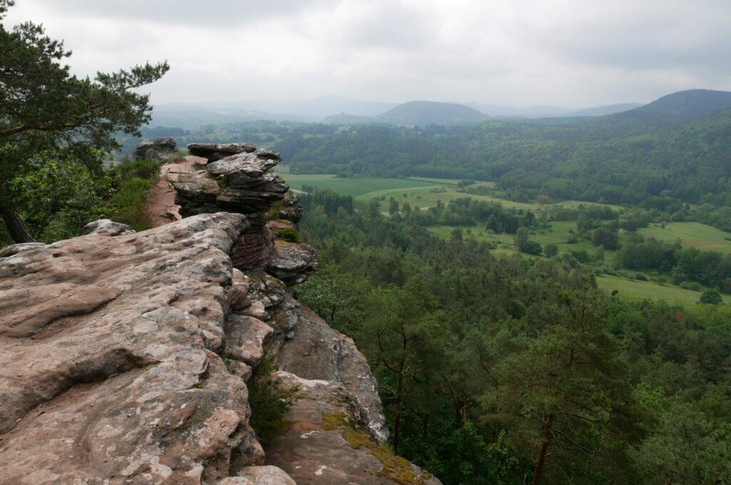Ausblick von den Geiersteinen