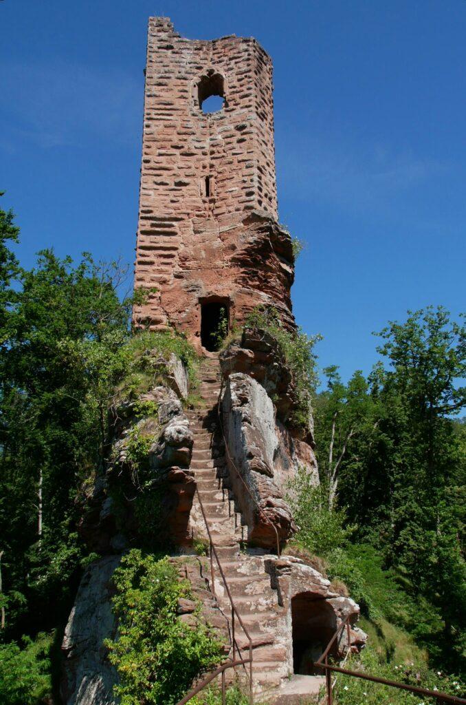 Ruine Wasigenstein in den Nordvogesen