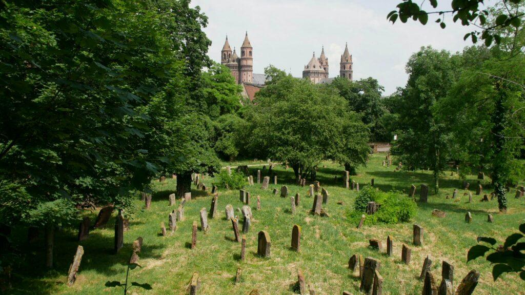 Jüdischer Friedhof und Dom in Worms