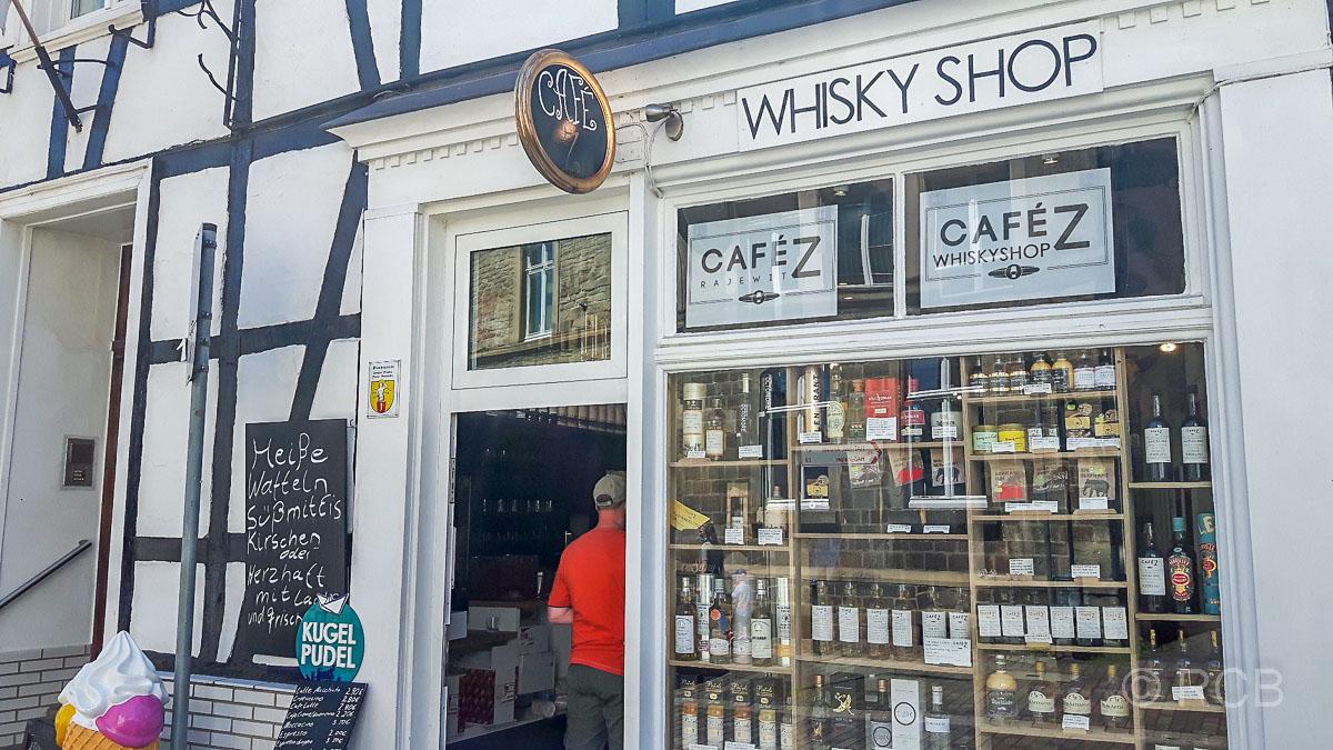 Whisky Shop in Blankenstein