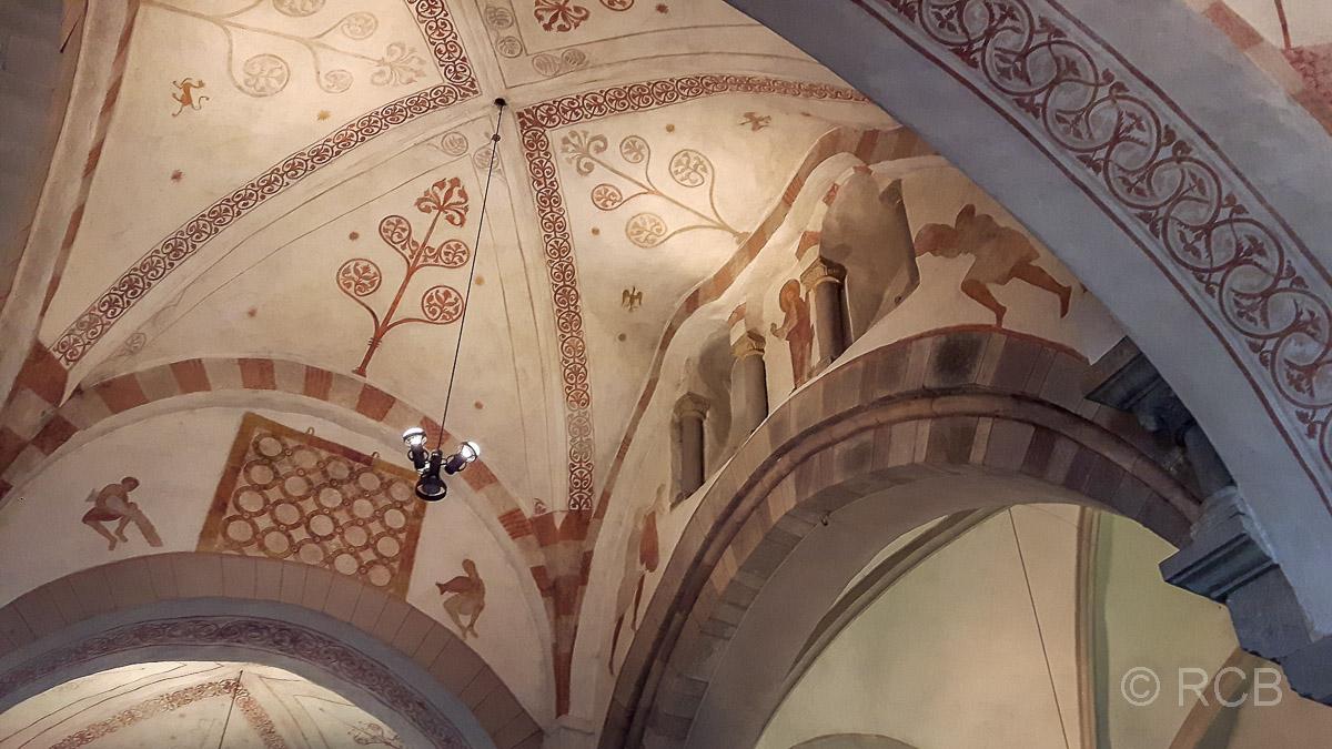 Stiepeler Dorfkirche,, mittelalterliche Fresken