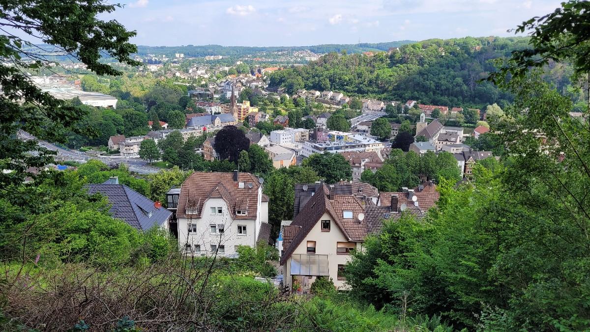 Blick auf Hohenlimburg