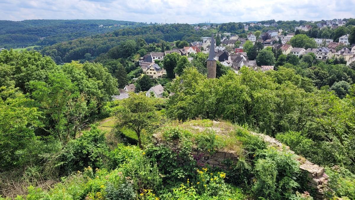 Wanderung zur Burgruine Volmarstein