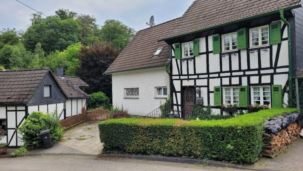 Fachwerkhäuser in Kaltenbroich