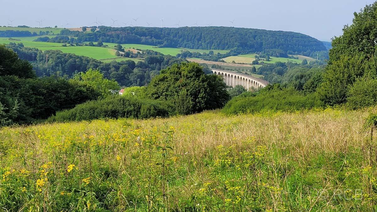 Blick auf's Viadukt