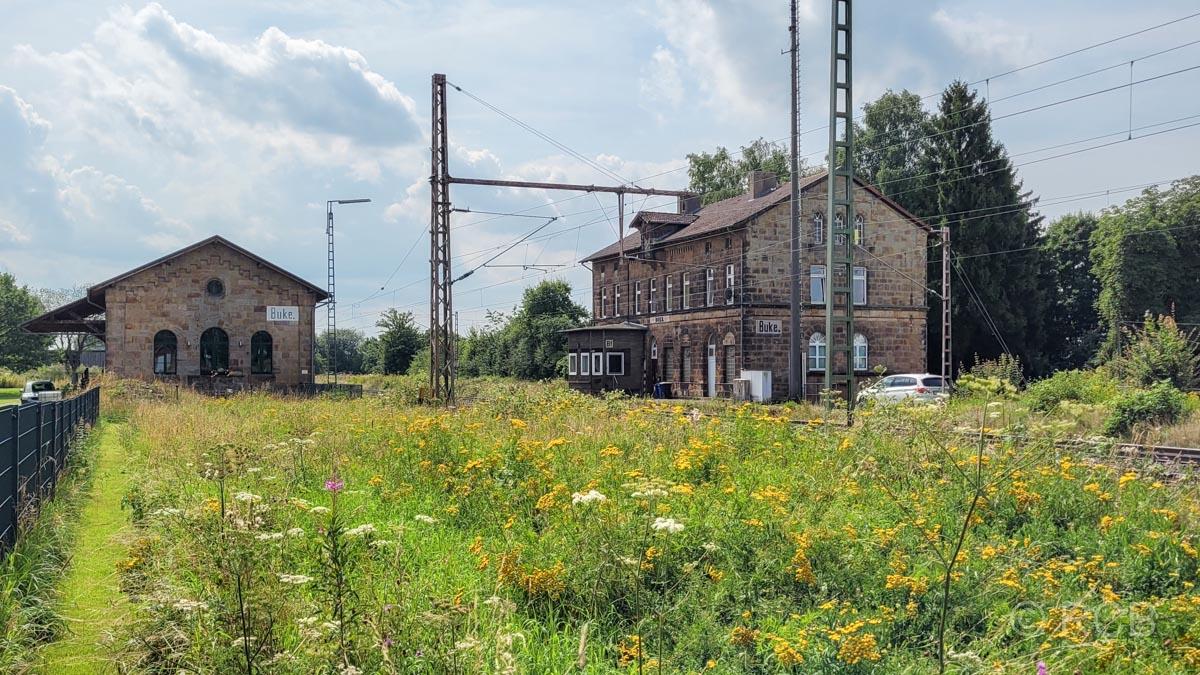 ehemaliger Bahnhof Buke