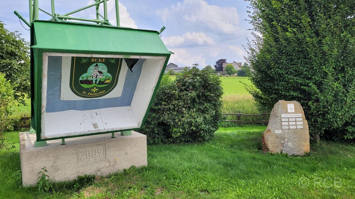 Schießstand des Schützenvereins in Buke